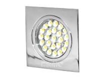 LED Spot 12V chrom,Touch-Schalter, 1,6W, 24LED