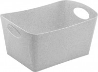 Koziol Organic Aufbewahrungsbox Boxxx M organic grey