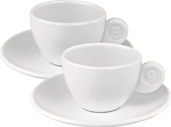 Tasses à espresso Gimex, lot de 2 Edelweiss