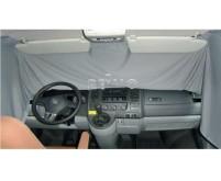 VWT5/6 Fahrerhaus Sichtschutzgardine grau einlagig , 1teilig