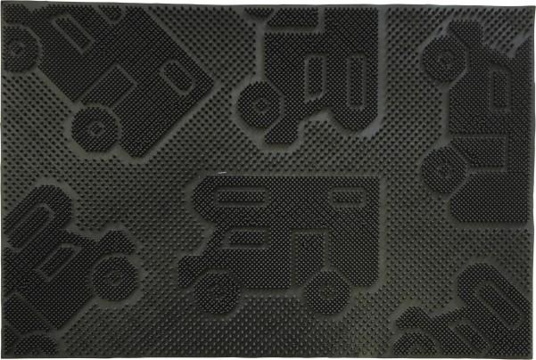 Tapis de sol en caoutchouc pour camping-car 60 x 40 cm