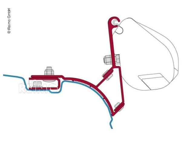 Adapter für F35, Transporter+Multivan UK Version o hne Dachschiene