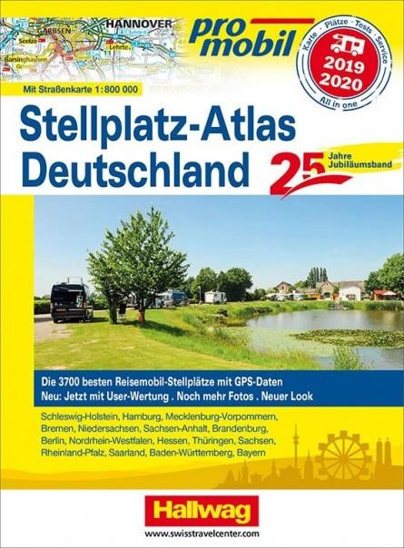 Promobil Stellplatzatlas Deutschland 2019