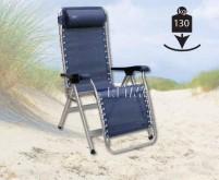 Canapé de camping bleu, capacité de charge de 130 kg
