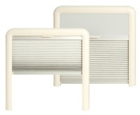 REMIS Doppel Kassettenrollo REMIflair IV beige 400 x350