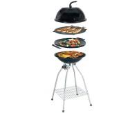 Woki Gasgrillset 50mbr, 3,5KW, incl.grille, couvercle ,wok,grillpl.,tasch.