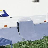 Enjoliveur de roue Berger pour keder rétractable à essieu unique