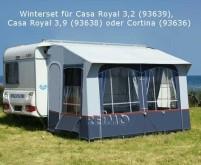 Ensemble d'hiver f. CasaRoyal 3,2 + 3,9m + Cortina
