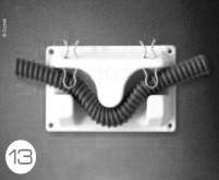 Wandhalter für 19-25mm Schlauch