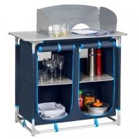 Küchenbox 4-Fächer blau