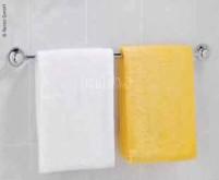 Handtuchhalter mit 2 Saugnäpfen, Lg.50cm